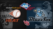 Game 1 Per. Heat vs Syd. BlueSox