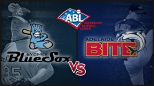 Game 1 Syd. BlueSox vs Ade. Bite