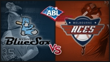 Game 3 Syd. BlueSox vs Mel. Aces