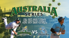 Game 1 Syd. BlueSox vs Australia