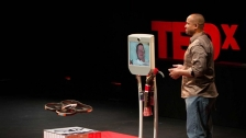 TED: Henry Evans and Chad Jenkins: Meet the robots for humanity - Henry Evans (2013)