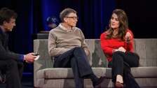 TED: Bill and Melinda Gates: Why giving away our wealth has been the most satisfying thing we've done - Bill Gates / Melinda Gates (2014)