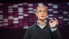 "TED: Stephen Friend: The hunt for ""unexpected genetic heroes"" - Stephen Friend (2014)"