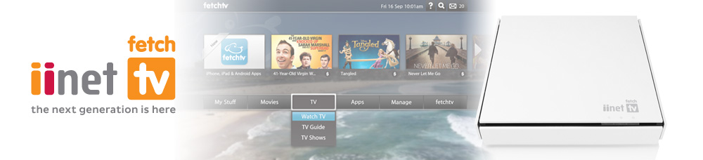 iiNet TV - next gen